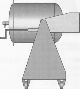 Вакуумный массажер Dorit-DFT VV-1-150. Вид сбоку